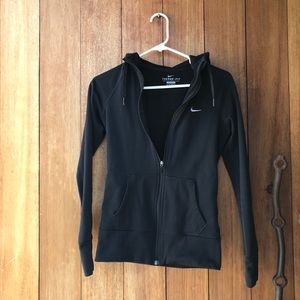 Nike women's zip up hoodie-XS